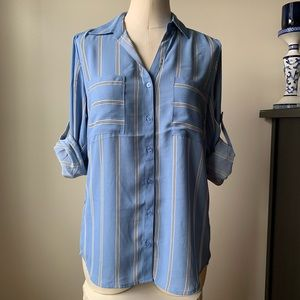 Philosophy Striped Button-Down